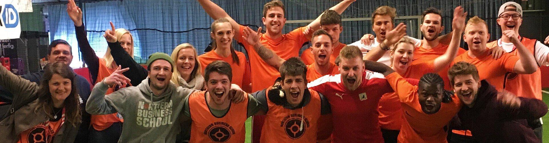Studentisches Leben: NBS-Fußballteam beim Cup der Privaten