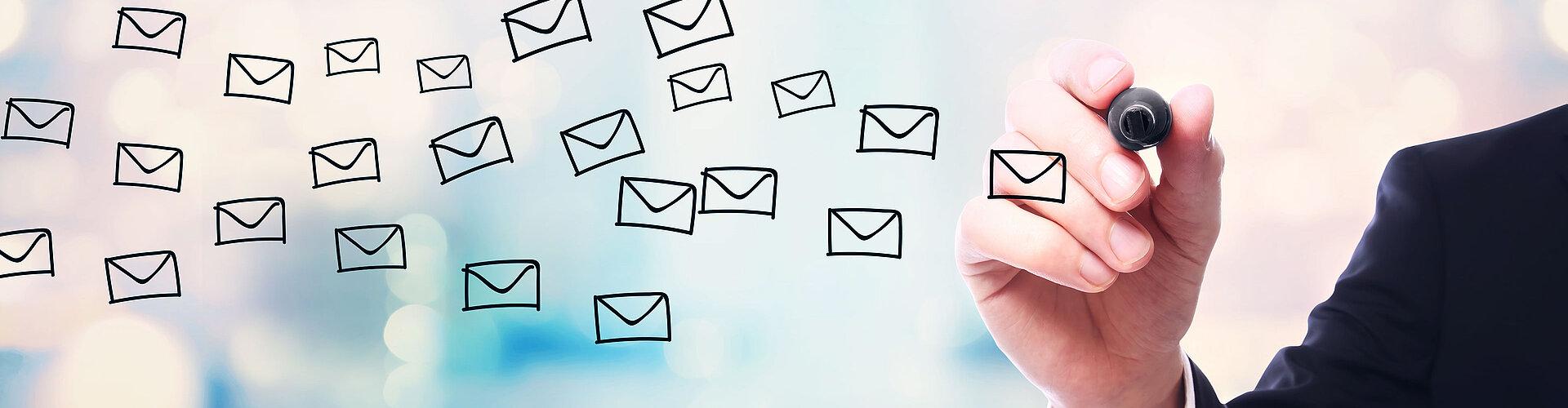 Per email kennenlernen englisch