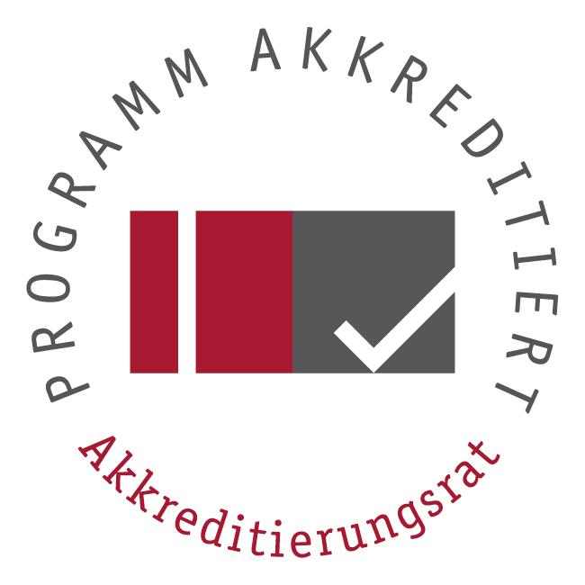 Siegel des Akkreditierungsrates für programmakkreditierte Studiengänge